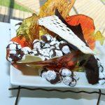 קינוח שוקולד מעוצב